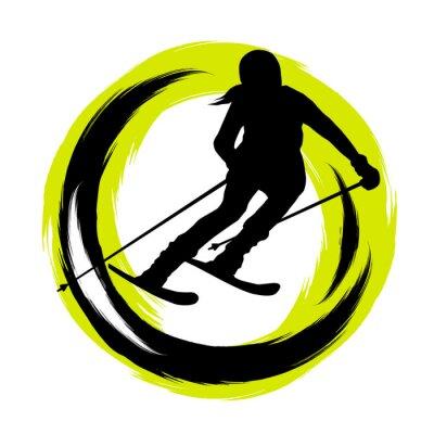 Sticker Wintersport - 23
