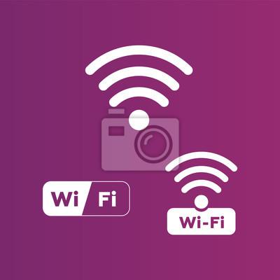 Wireless- und wlan-symbole. drahtloses netzwerk symbol wifi symbol ...