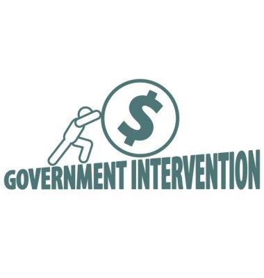 Wirtschaft und Regierungsintervention