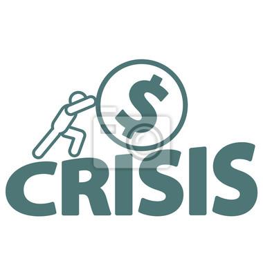 Wirtschaftliche Krisenprobleme