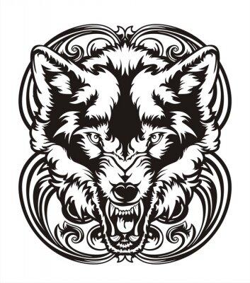 Sticker WOLF