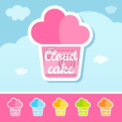 Wolken-Kuchen-Logo