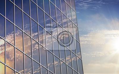 Wolkenkratzer Fenster