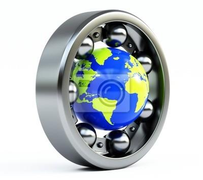 World in bearing