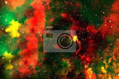 Wunderbare Galaxie in einem tiefen Raum. Wissenschaft.