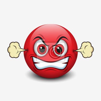 Wütend emoticon 🔟 Keycap