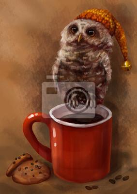 Кофе с печенюшками и совеком