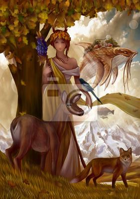 Нимфа - Хозяйка Золотого леса