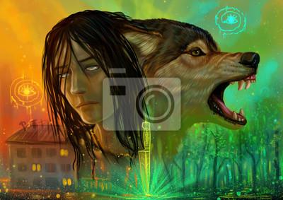 Парень и волк