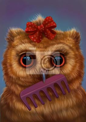 Сова парикмахер