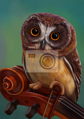 Сова музыкант