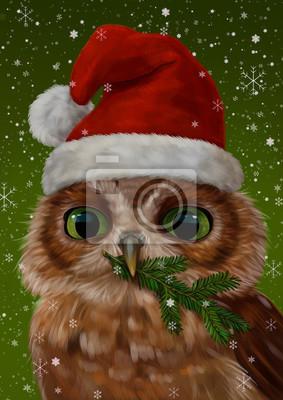 Рождественская сова