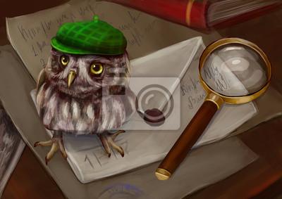 Сова детектив
