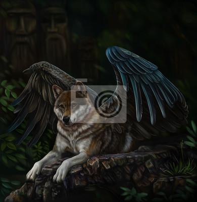 Крылатый волк