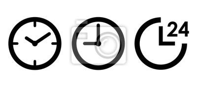 Sticker 時計 24時間 アイコンセット