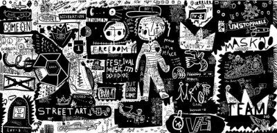 Sticker Граффити