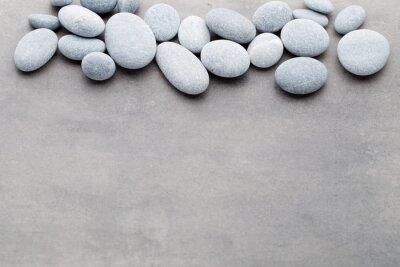 Sticker Spa-Steine Behandlung Szene, Zen wie Konzepte.