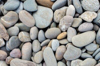 Sticker Strand Steine Hintergrund