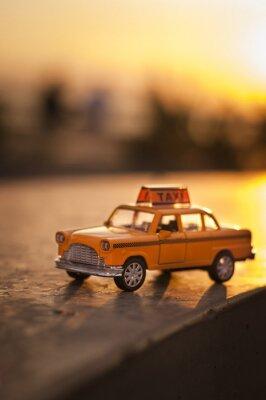 Sticker Yellow Cab