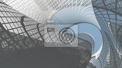 Sticker Zeitgenössische Architektur