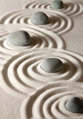 Sticker Zen Steine
