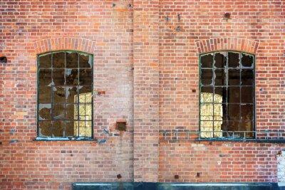 Sticker Zerbrochene Fenster
