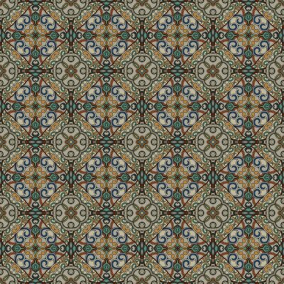 Zier-Muster. Seamless floral background