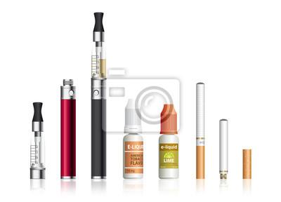 Zigarette électronique, E-Zigarette, E-Liquide