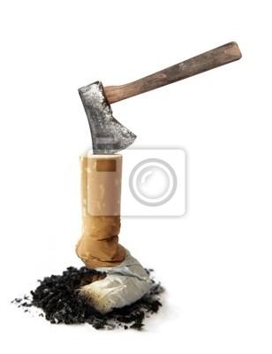 Zigarette und Axe