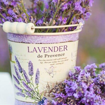 Sticker Zubehör in Lavendelblüten