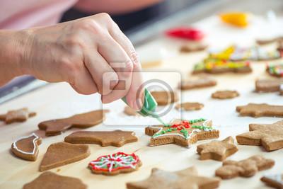 Zuckerguss Weihnachtsplätzchen