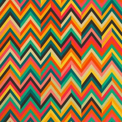 Sticker Zusammenfassung Farbe der Weinlese Retro nahtlose Muster Hintergrund