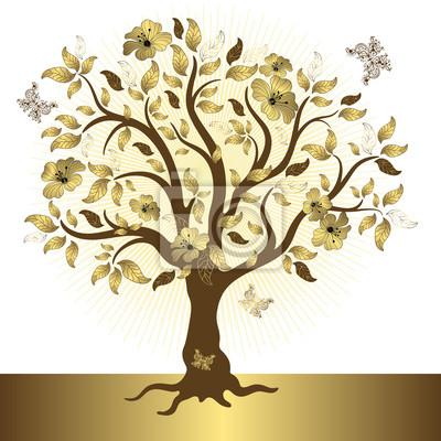 Zusammenfassung goldenen Baum
