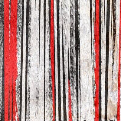 Sticker Zusammenfassung Hintergrund Design auf Holz Korn Textur