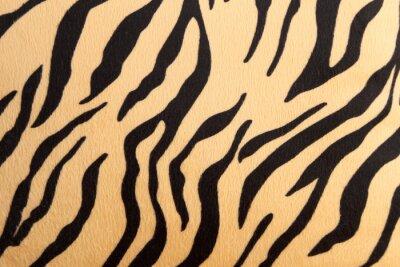 Sticker Zusammenfassung mit Bengal-Tiger Textur