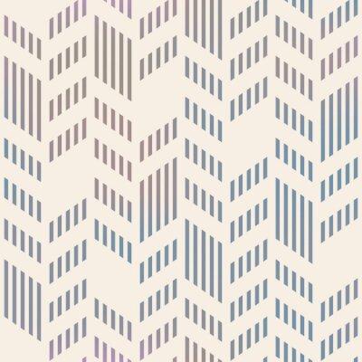Zusammenfassung Nahtlose Geometrische Vector Chevron Muster. Netzrückseite