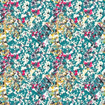 Sticker Zusammenfassung nahtlose Muster mit bunten Lärm