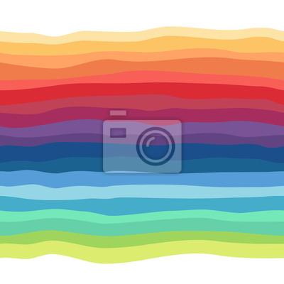 Zusammenfassung Regenbogen nahtlose Hintergrund