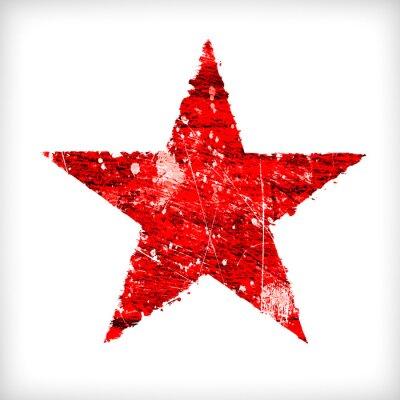 Sticker Zusammenfassung Stern auf einem weißen Hintergrund