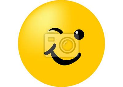 Zwinker smiley mit zunge bedeutung